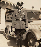 Old photo of WSP Officer