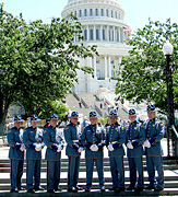 WSP Honor Guard in DC - Click to view larger image