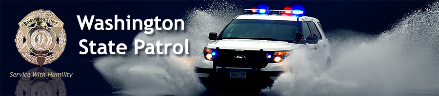 Washington State Patrol - Click banner to view WSP Home Page